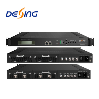 NDS3542A 4 SDI to dvb-c encoder modulator