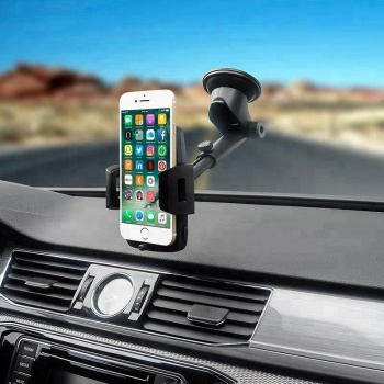 Car mount phone holder suction cup for windshield