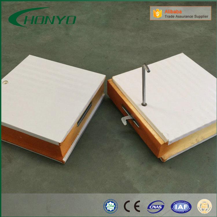 De pu panelen modulaire walk in koude opslag koude kamer koelsysteem voor vis en vlees koude - Modulaire kamer ...