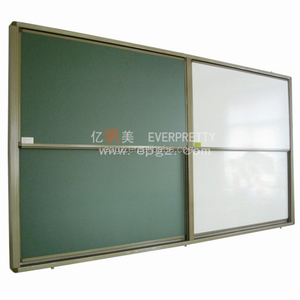 Modern Magnetic Whiteboard Classroom, Sliding Wall mounted Whiteboard of School Furniture Board