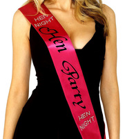 Nymph Code Bride To Be Satin Sash Bridal Wedding Miss Beauty Decorative Signs Accessories
