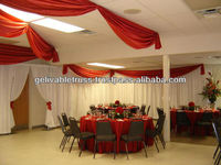 easy installed curtain rod for wedding