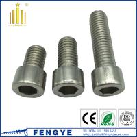 DIN 912 stainless steel A2/A4 hex socket allen bolt