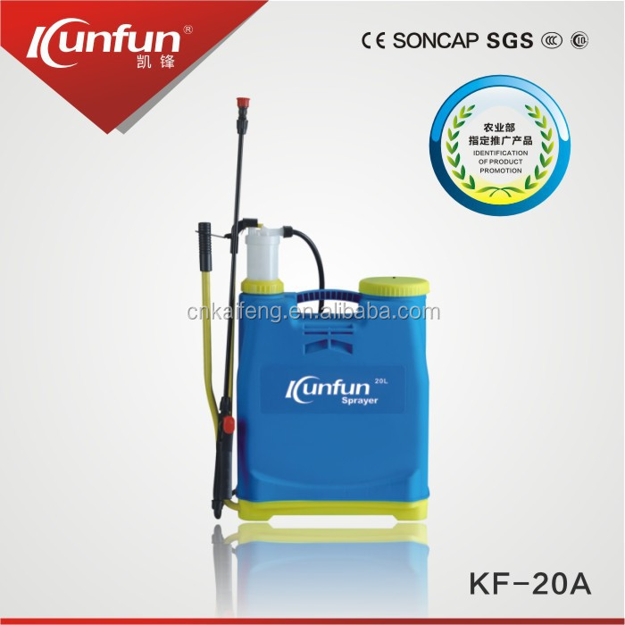 20Liters Knapsack hand pressure sprayer manual sprayer for Agriculture& garden,Kunfun sprayer(KF-20A)