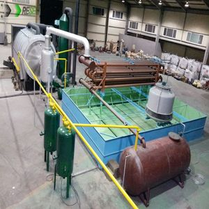 Pyrolysis Tire Recycling In Usa Pyrolysis Oil Machinery Project