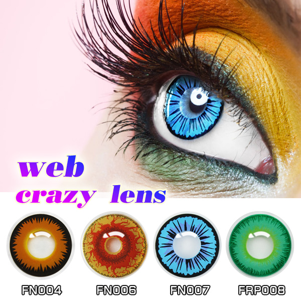 colored eye contact lenses spring contacts red contact lens