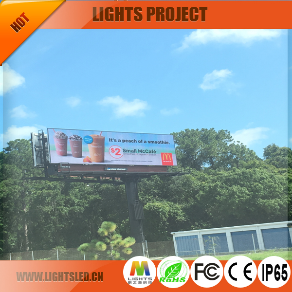 Fixed Variable Electronic Message Centers P8 DIP Led Bottle Display