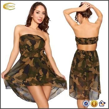 Hot Camo Dresses