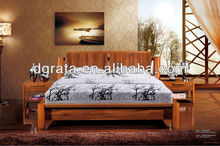 2012 New leisure bedroom furniture suits in solid wood and MDF board for the house furniture