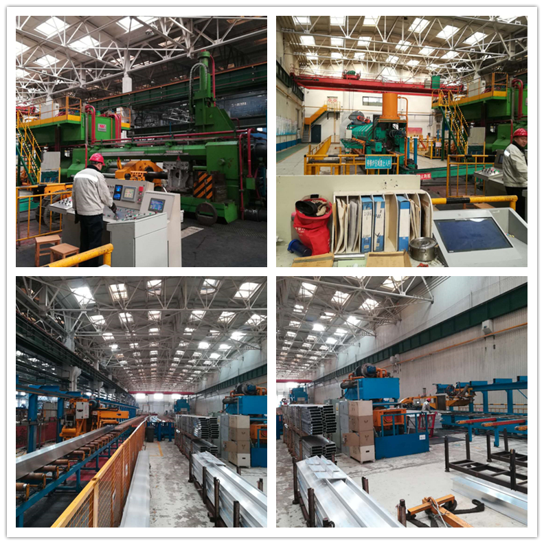 6061- T6 Extruded Aluminum System Assembly Production Line For Industry