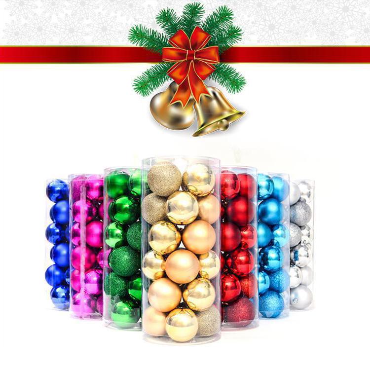 Colorful Christmas Balls.24pcs 4cm Plastic Christmas Tree Ornaments Colorful Christmas Balls Buy Christmas Balls Christmas Tree Ornaments Christmas Ornaments Product On
