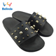 Summer Woman Sandal Black Slide Shoes Fashion China Wholesale Ladies Flat Slipper