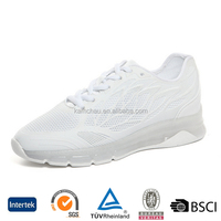 Europe best cheap brand fashion all white ladies lightweight casual walking shoes for travel