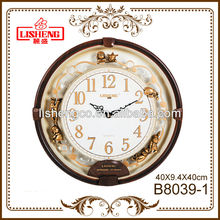 Wall quartz clock plastic B8039-1