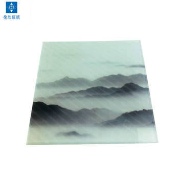Low price CE certificate alkaline resistant screen printing glass