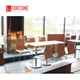 Fast food restaurant furniture set kfc mcdonald's fast food restaurant chair table counter (FOH-CMY73)