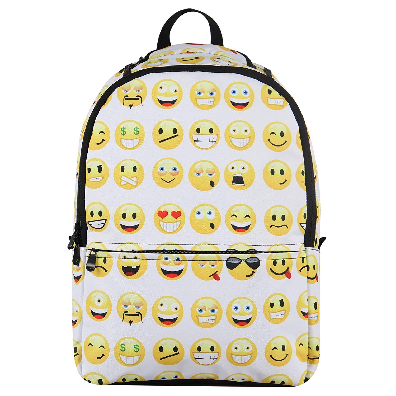 Buy Hynes Eagle Cute Emoji Backpack Cool Daypacks Back to School ... f260011040320