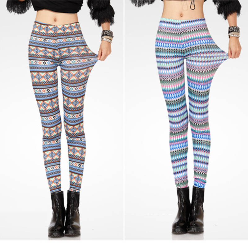 custom printed leggings trendy clothes