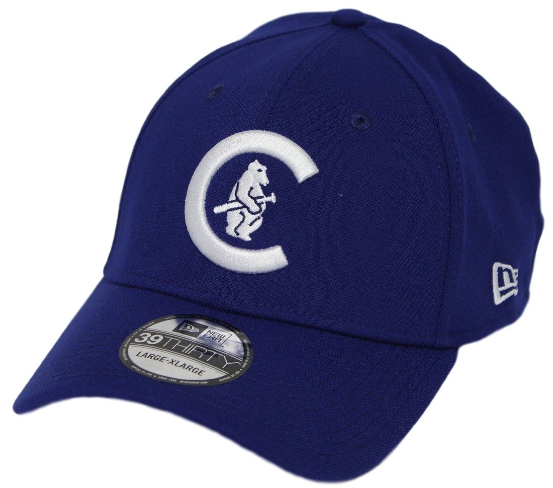 promo code 3671c 6d812 Chicago Cubs New Era MLB 39THIRTY Cooperstown