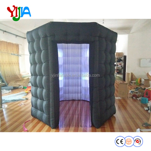 Fashionable design OEM tent type inflatable wedding photo booth wholesale made in China