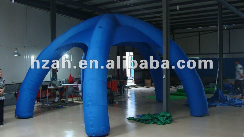 Green inflatable advertising arch tent