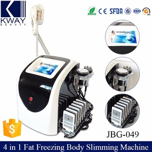 4 in 1 Multifunctional Laser Liposuction Cavi Lipo Cool Tech Fat Freezing Slimming Machine