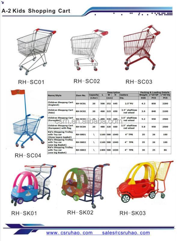 ruhao kids trolleys children shopping cart