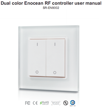 zigbee smart home enocean wall switch for home automation. Black Bedroom Furniture Sets. Home Design Ideas