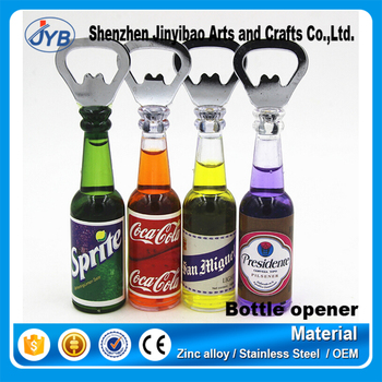 bottle shaped custom beer bottle opener fridge magnets buy bottle