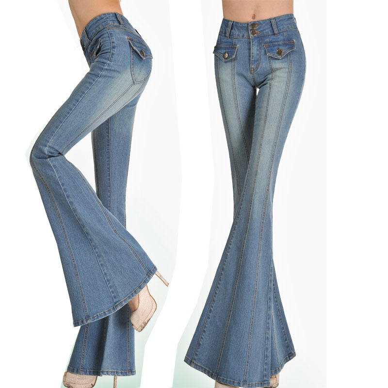 Denim Bell Bottom Jeans, Denim Bell Bottom Jeans Suppliers and ...