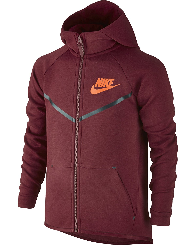 Get Quotations · Nike Sportswear Tech Fleece Windrunner Big Kids  (Boys )  Hoodie 82d79591df