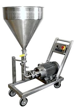 Self Pump Powder Liquid Inline Homogenizer Disperser