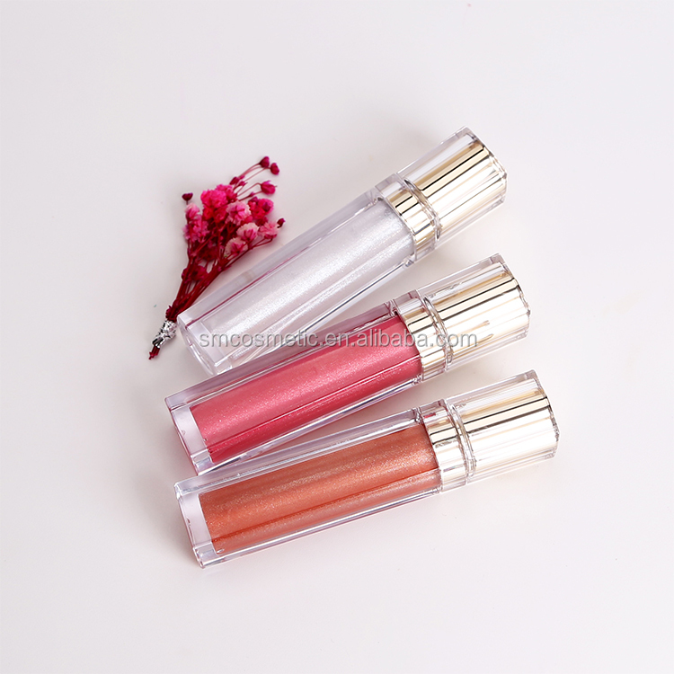 S05  Vegan halal  cosmetics glitter lipstick  makeup private label  Shimmer lipgloss  for  wholesale glitter lipgloss