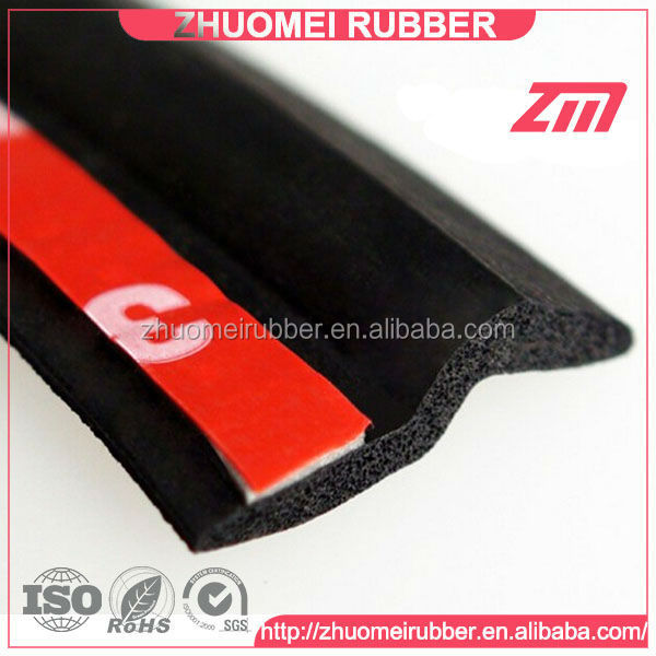 B P D A Z Shape Car door Rubber Seal 3M adhesive