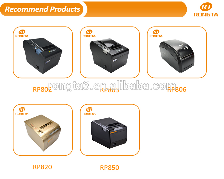 Rongta Digitale Label Printer USB Thermische Transfer Barcode Printer
