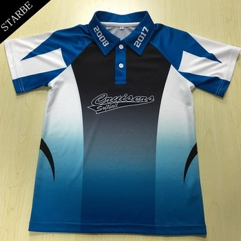 Custom Dry Fit Sublimated Print Golf