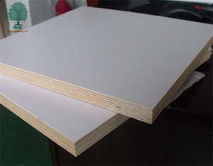 Cheap Decorative White Melamine Plywood Board for Sale
