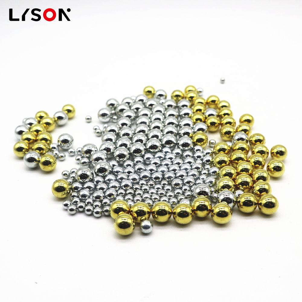Electroplating zinc/copper/nickle plated steel balls in stock