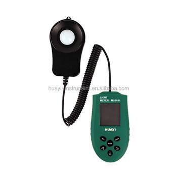 Digital Light Meter Luminous Flux Meter MS6611