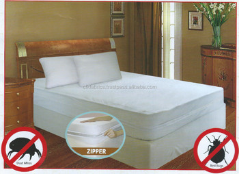 Quilted Waterproof Mattress Protector Bed Bug Protector Encasement