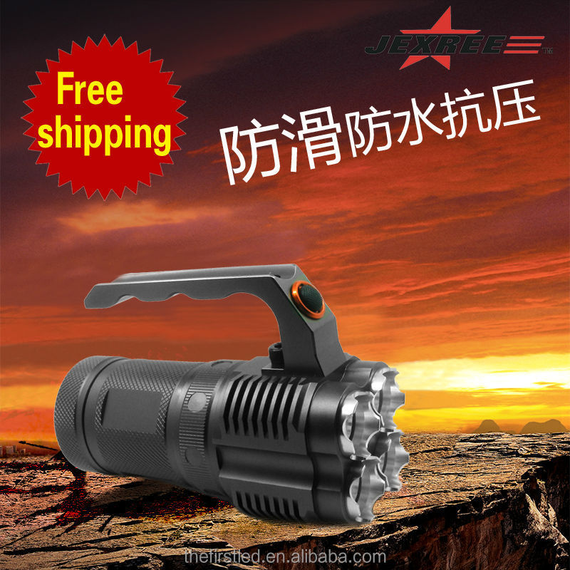 scuba diving breathing air compressor led flashlight LED torch flashligh with 4XCree XM-L2
