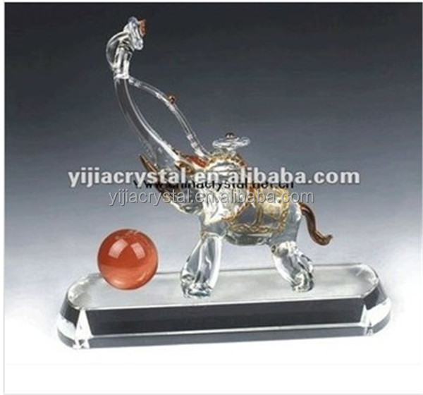 Crystal Glass Elephants, Crystal Glass Elephants Suppliers And  Manufacturers At Alibaba.com