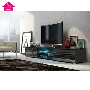 Modern Wood LED TV Wall Unit Stand Wall Cabinet Design for TV Stand