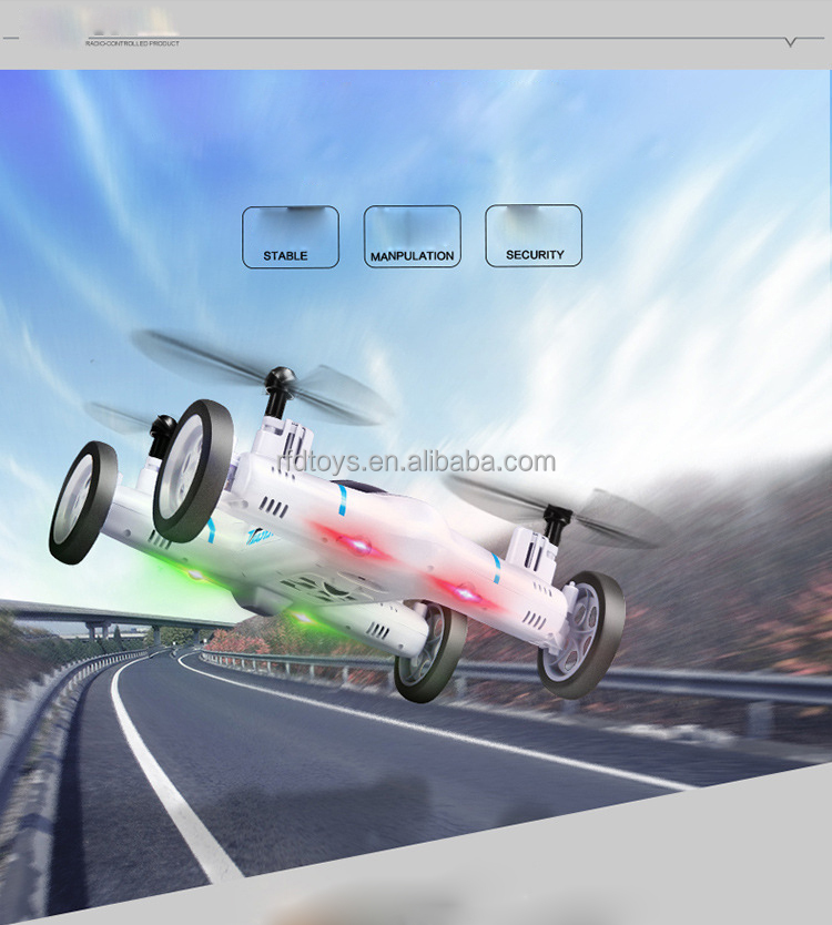Wholesale sky hawkeye 2.4G 4ch rc propel quadcopter drone rc flying car