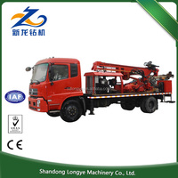 350M Cheap Price sinotruk truck mounted water well drilling rig SLY300