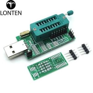 Lonten 10pcs/lot CH341A 24 25 Series EEPROM Flash B USB Programmer  programmer router Nine brush machine