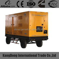 25kva Yuchai moble silent diesel generator sets CE approved
