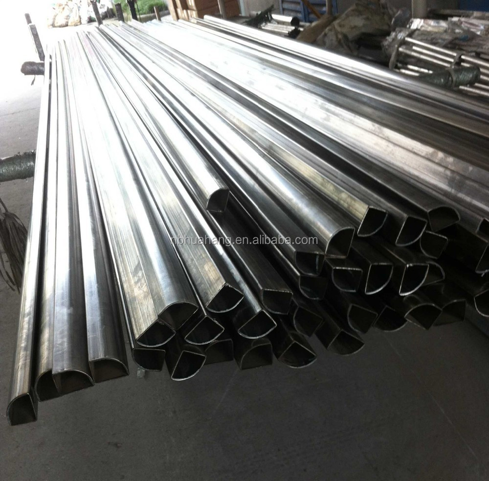 special shape type stainless steel pipes and tubes for sanitary use