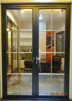 Aluminium Interior Kitchen Swing Half Doors With Grill Design