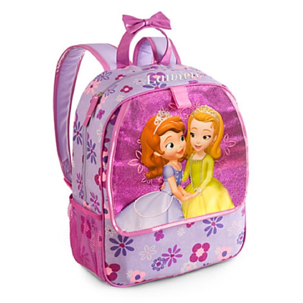 529d444c948 Get Quotations · Disney Store Princess Sofia the First Backpack Book Bag  Purple